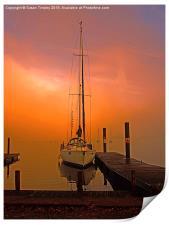 Sunrise at Windermere, Print