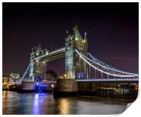London Bridge, Print