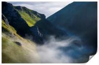 Winnats Pass mist, Print