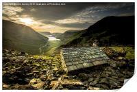Mountain Refuge , Print
