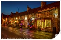 Christmas comes to Castleton, Print