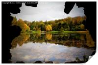 Stourhead Outlook, Print