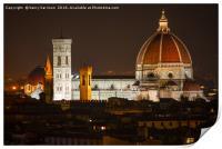 Florence Churches, Print