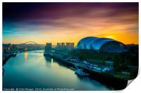 Sage Sunrise Gateshead, Print