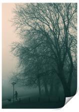 Foggy day, Print