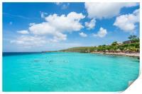Coral Estate scenic photos  Curacao views , Print