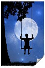 Childhood dreams, The Swing, Print