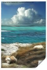Nonsuch Bay, Antigua, Print