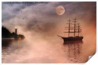 Evening Mists, Print