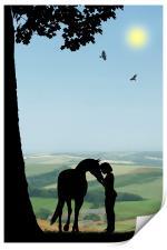 Childhood Dreams, The Pony, Print