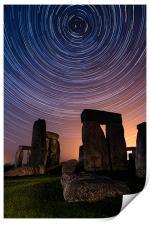 Stonehenge Startrails 3, Print