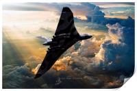 2015 The Last Flight of XH558, Print
