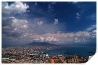 Napoli bay, Print