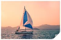 Yacht racing, Print