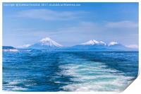 Pacific Ocean, Print