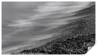 On the shore, Print