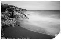 Beach of Los Molinos, Print