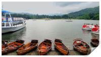 Ambleside Boats, Print