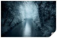 Blue River, Print
