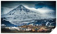 Icelandic Village, Print