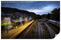 Train Station, Print