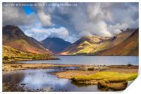 Landscape of Cumbria, Print