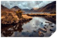 Fresh Water Landscape, Print