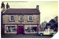 Aidensfield Store (Goathland), Print