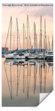 Evening at Shoreham Yacht Club, Print