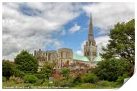 Chichester Cathedral, Print