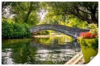 Bridge over troubled waters, Print