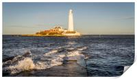 January day at the Lighthouse, Print