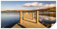 Jetty View to the Helvellyn mountains, Print