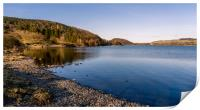 Ullswater in the English lake district, Print