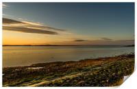 The Bay at Sundown, Print