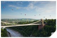 Bristol Balloon Fiesta 2015., Print