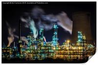 Saltend Chemical works, Print