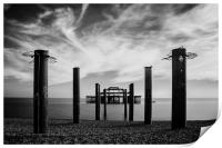 The Old Pier , Print