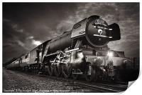 The flying scotsman, Print
