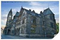 Rochdale Town Hall, Print