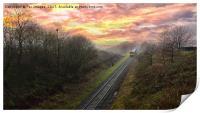 East lancashire railway, Print