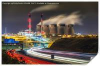 Ferrybridge Power Station, Print