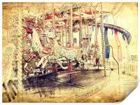 All The Fun Of The Fair, Print