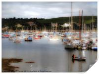 Falmouth harbour , Print
