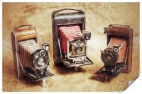 Old Cameras, Print