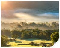 Edale sunrise, Peak District, Derbyshire, Print