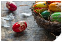 Easter eggs, Print