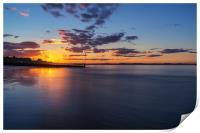 Portobello at Sunset, Print