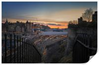 The Waverley at sunset, Print