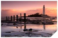 St Marys Lighthouse, Print